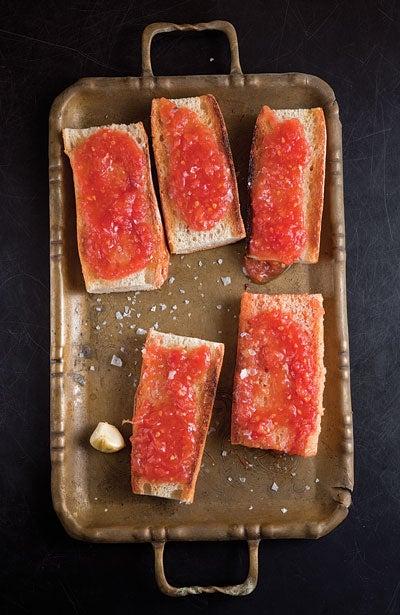 Pan Con Tomate Crostini