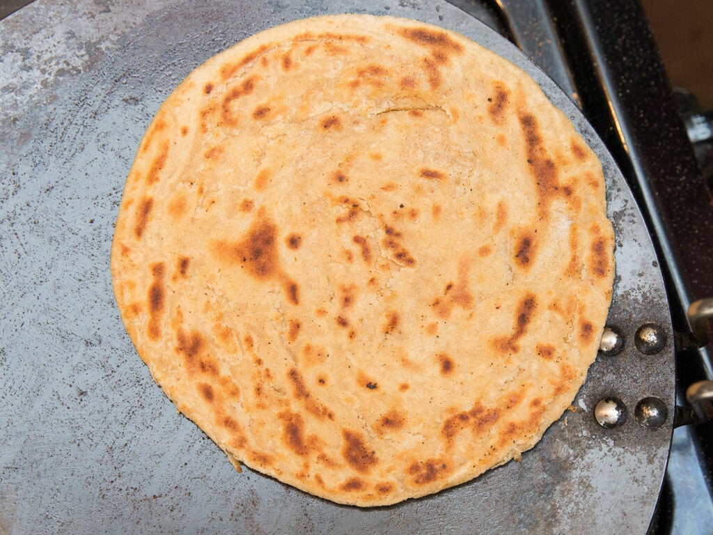 Roti (Indian Whole Wheat Flatbread)