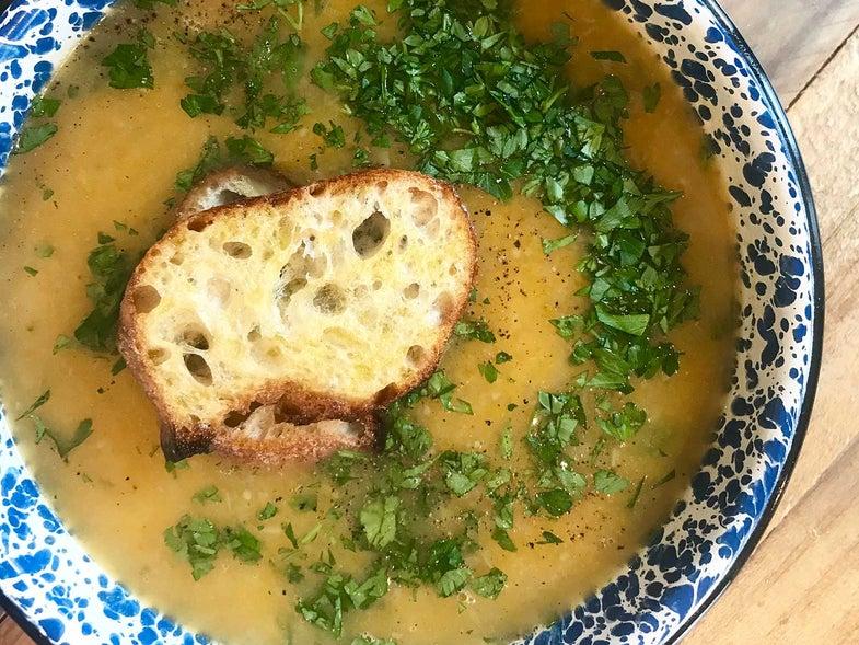 Squash Soup (Soupe de Courge)