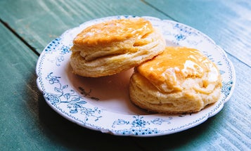 Super-Flaky Buttermilk Biscuits With Honey Butter