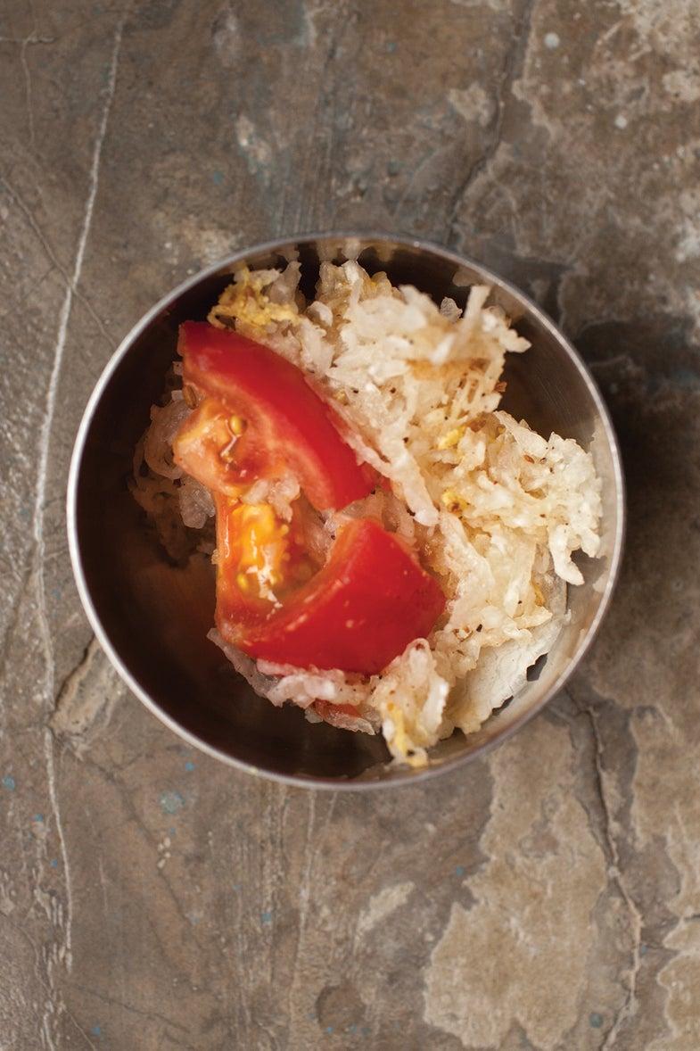 Marwari Radish and Tomato Salad