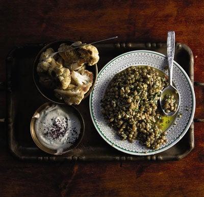 Salata Adas (Garlicky Lentil Salad)