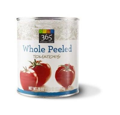 365 Everyday Value Whole Peeled Tomatoes