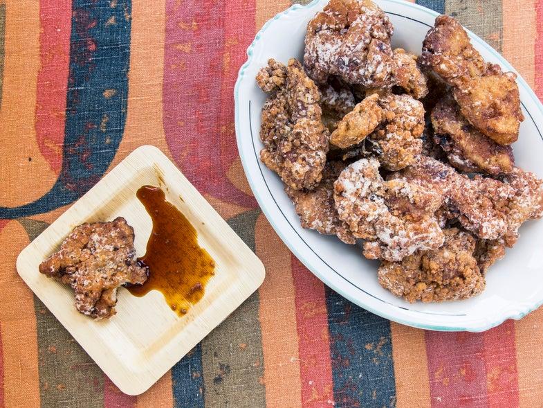 Hawaiian Fried Chicken (Mochiko Chicken with Ponzu)