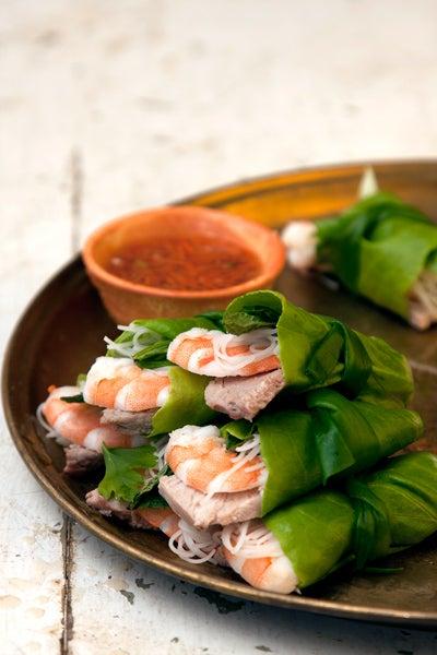 Vietnamese Lettuce Wraps