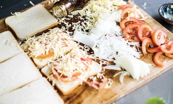 South African Grilled Cheese (Braaibroodjie)