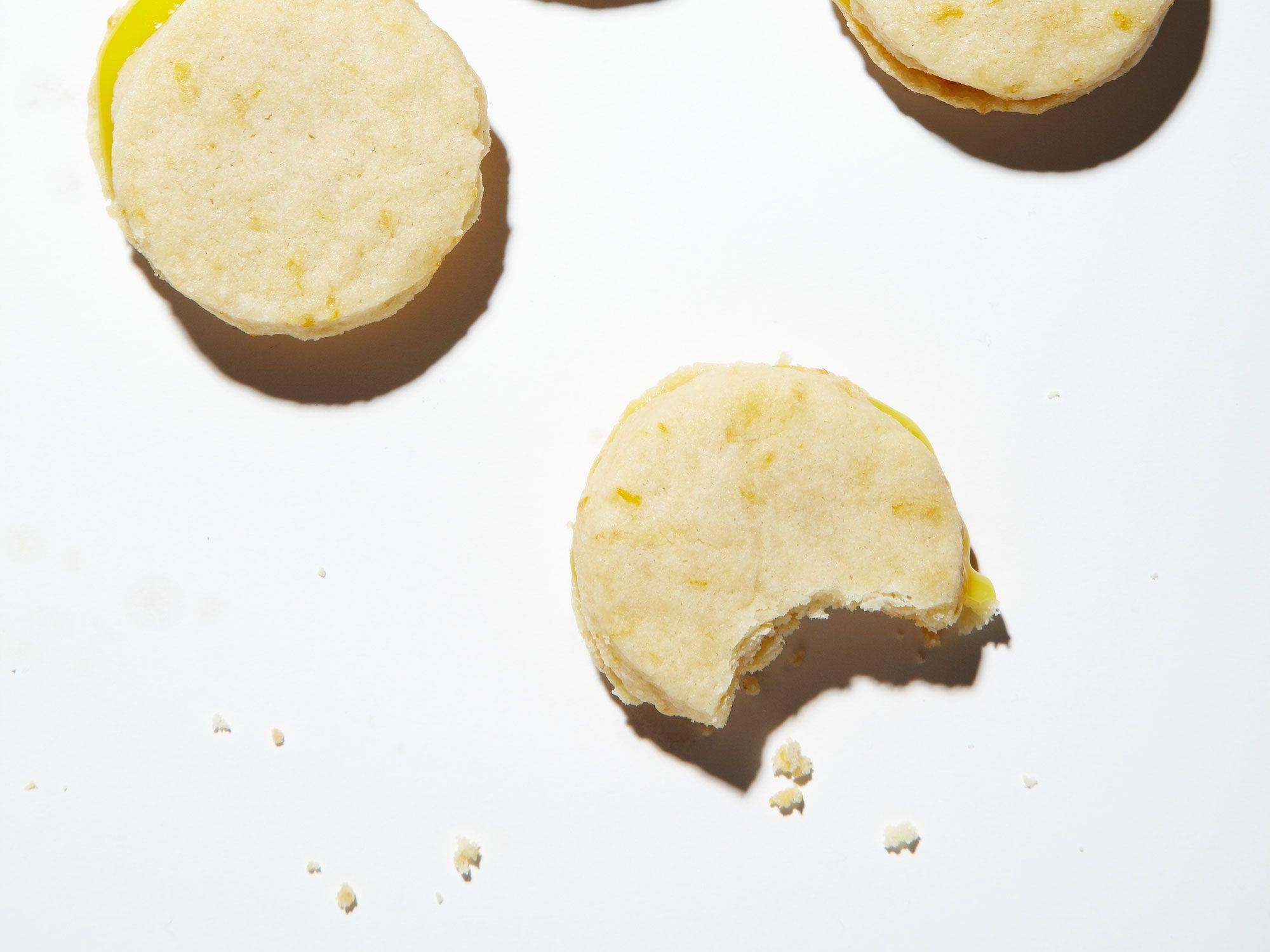 Meyer Lemon Sandwich Cookies
