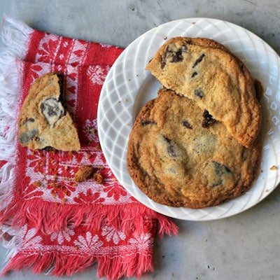 Honey Chocolate-Chip Cookies