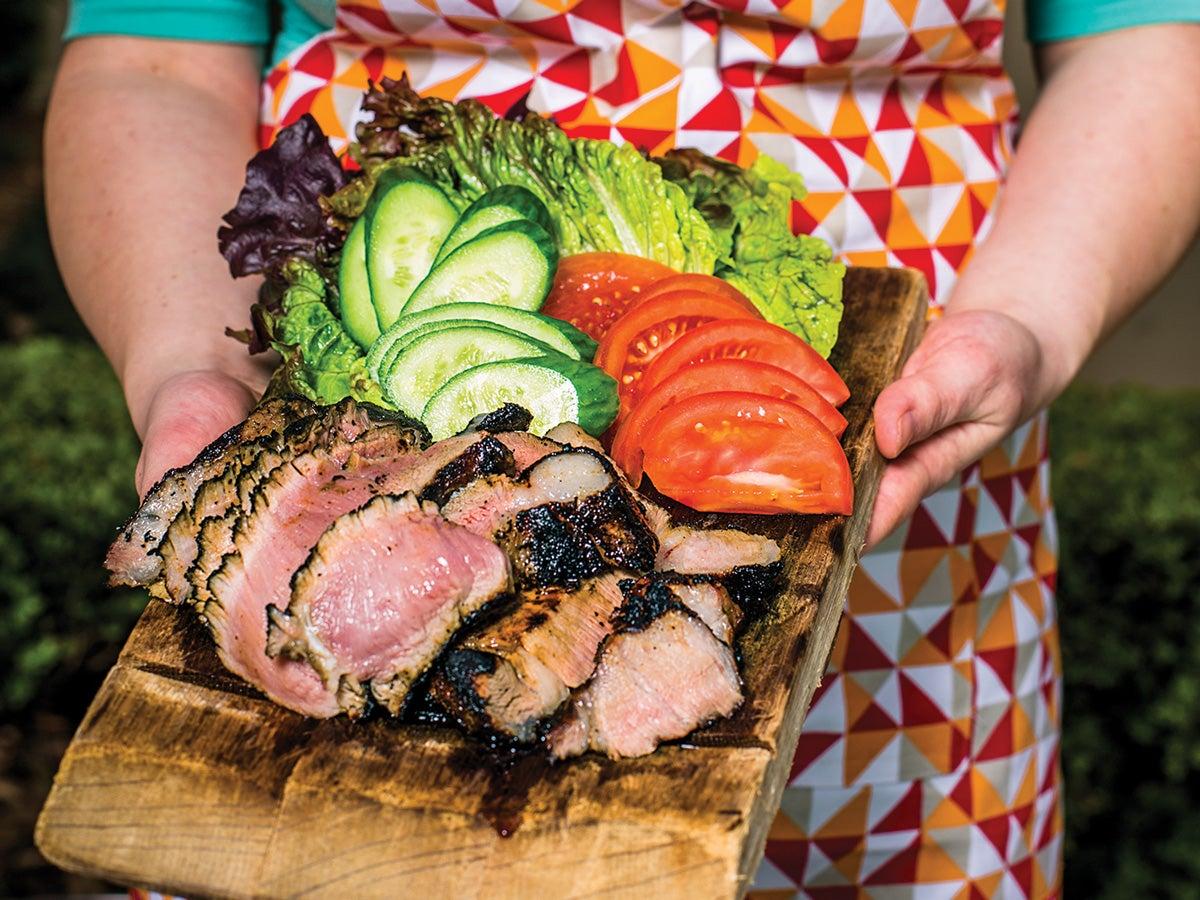 Houston, Chris Shepherd, Grilling, Vietnamese Style Pork Collar