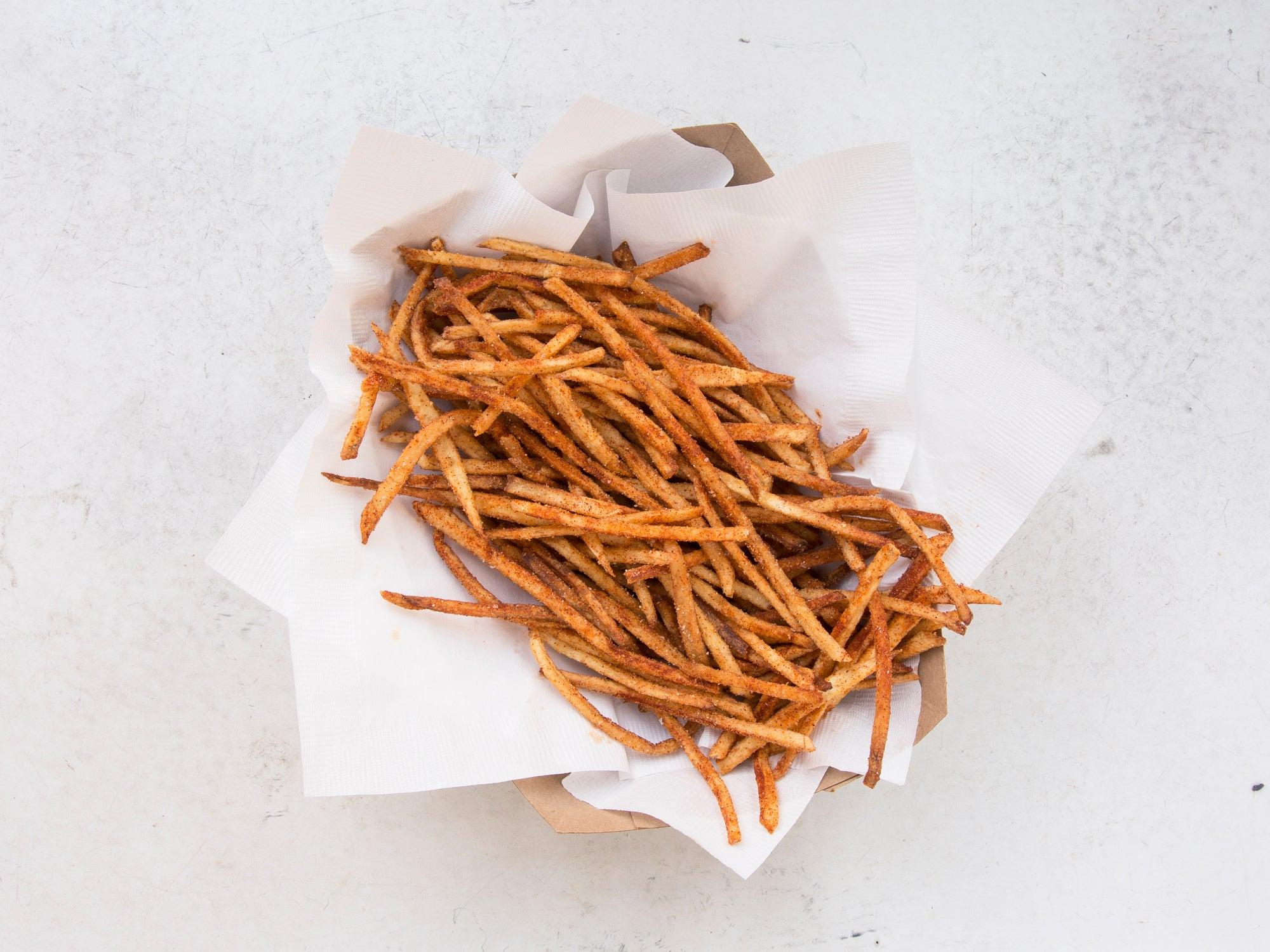 Homemade Hot Fries