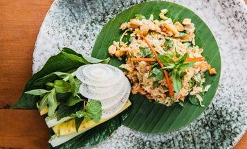 Chicken and Green Mango Salad