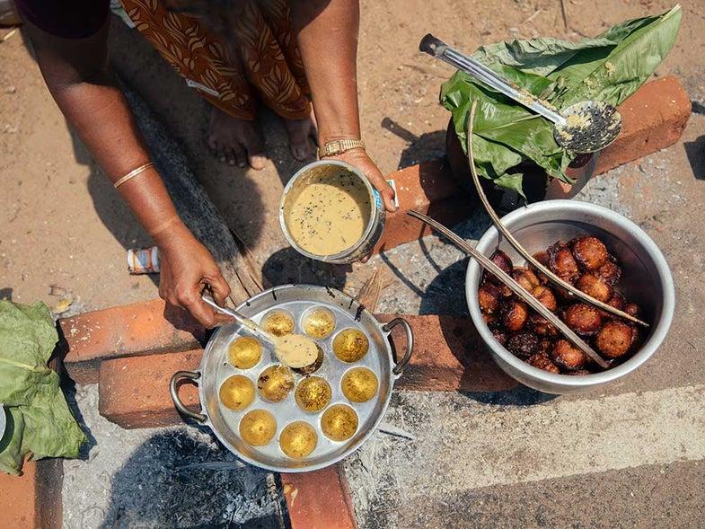Unniyappam (Fried Banana and Rice Flour Balls)