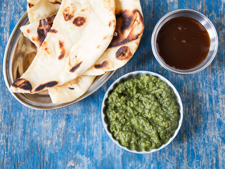 Spicy Mint, Cilantro, and Chia Seed Chutney