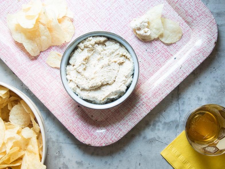 Caramelized Onion and Sunchoke Dip