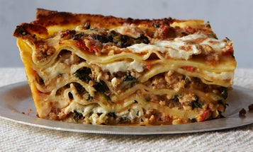 Veal and Spinach Lasagna