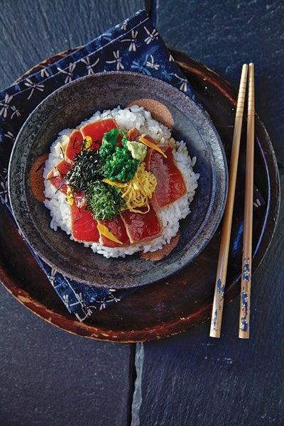 Soy-Marinated Tuna Bowl