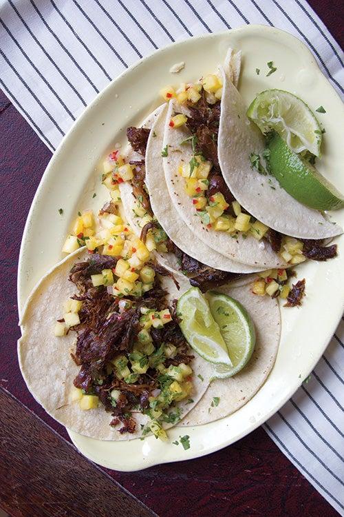 Braised Duck Tacos (Tacos de Carnitas de Pato)