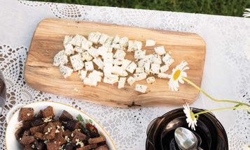 Garlic Rye Croutons