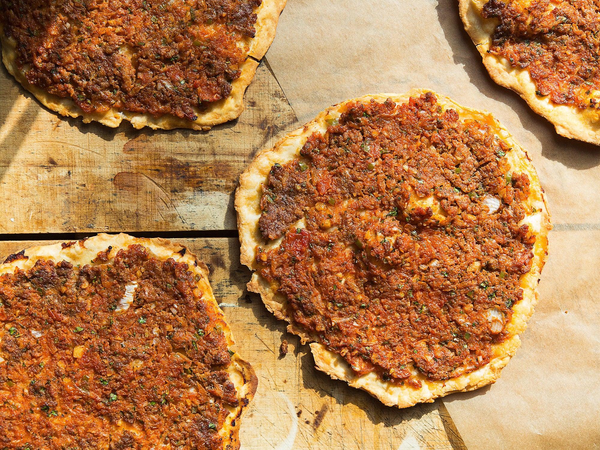 Lahmacun Turkish Flatbread