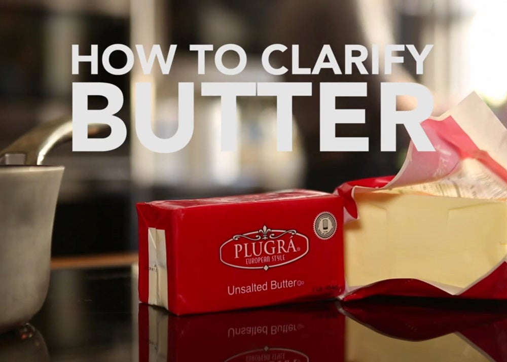 VIDEO: How to Clarify Butter