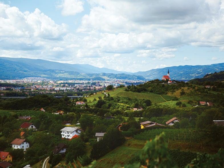 Maribor, Slovenia Landscape