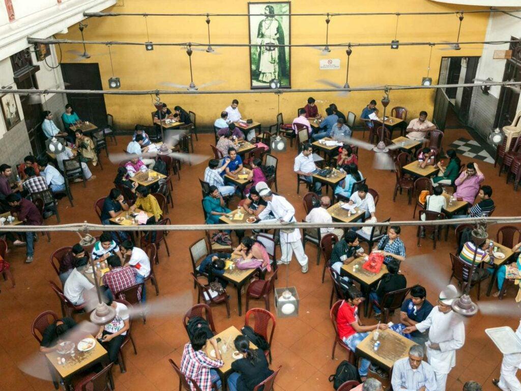 Indian Coffee House in Kolkata