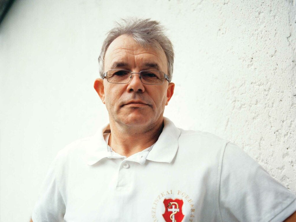 Winemaker Samuel Tinon; Tokaj, Hungary