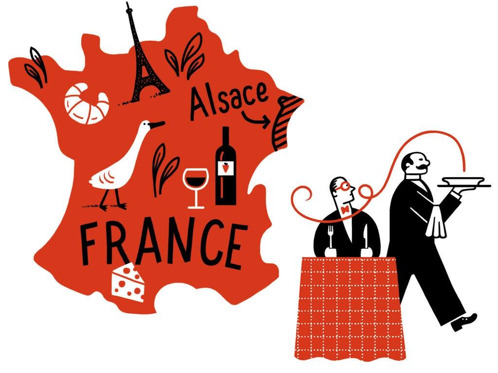 """France,"