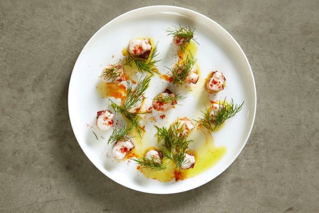 Seared Octopus with Fennel Pollen and Paprika