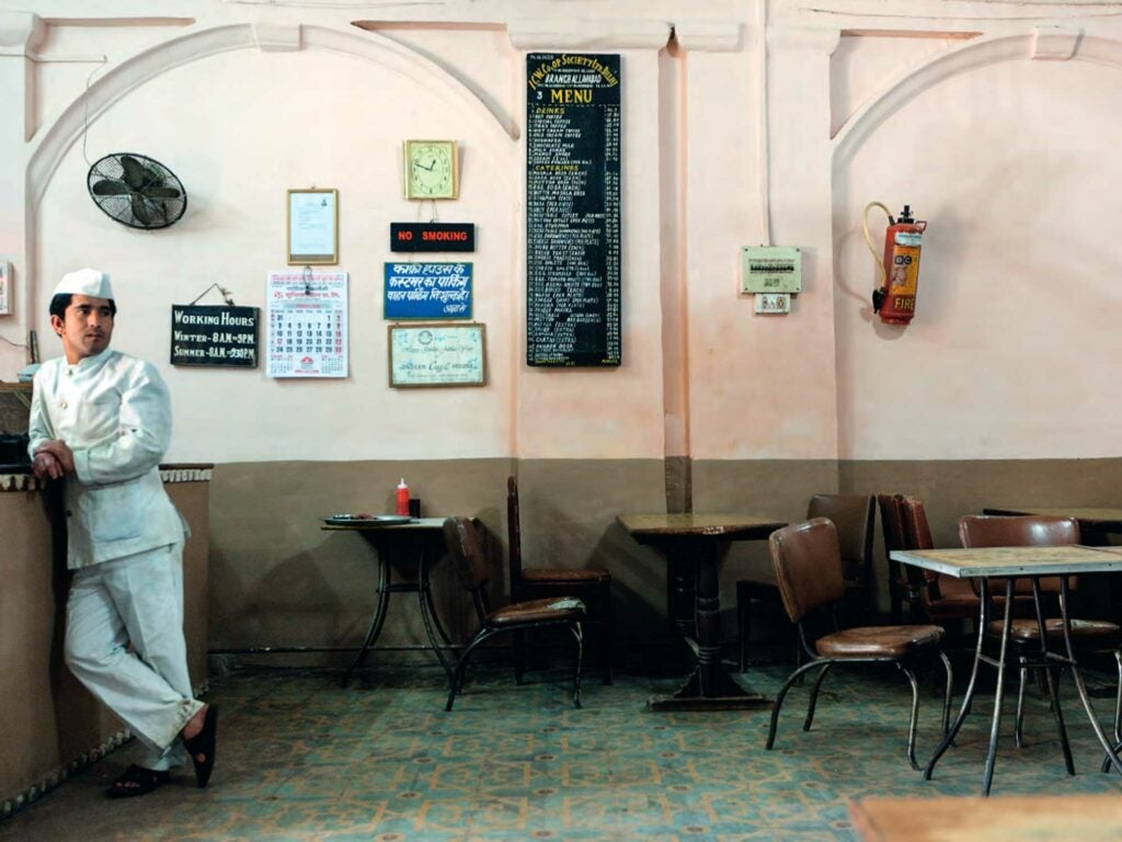 Indian Coffee House in Allahabad