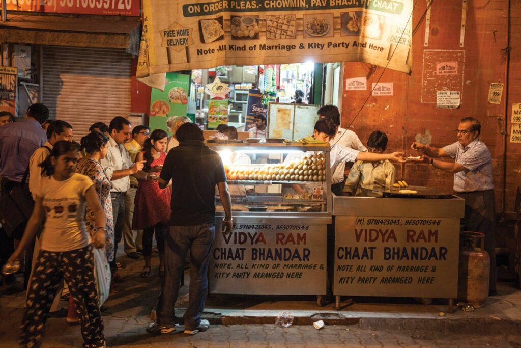 eating and drinking in new delhi