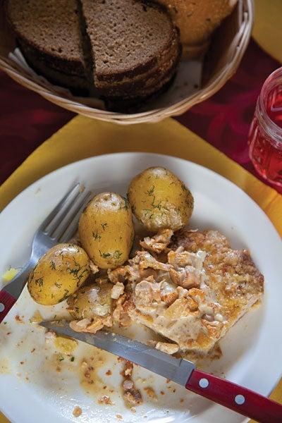 Boiled Potatoes With Dill (Kartupeli ar Dillēm)