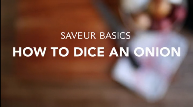 VIDEO: How to Dice an Onion