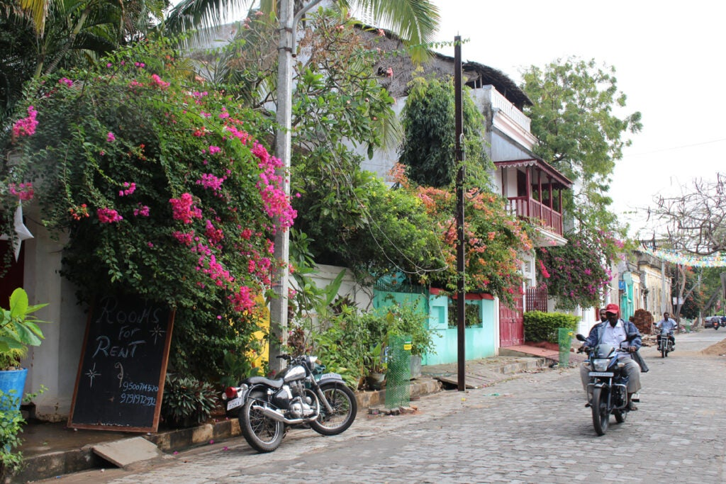 """Pondicherry,"