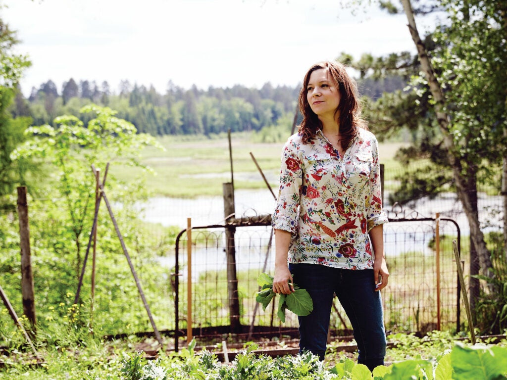Minnesota, Amy Thielen, garden