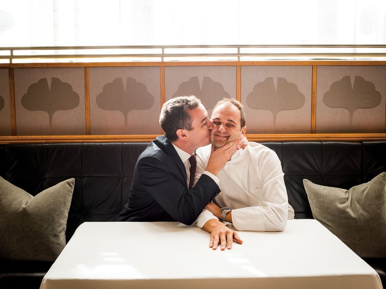 Will Guider and Daniel Humm