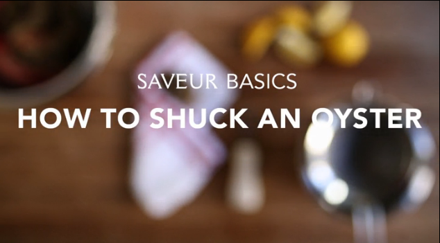 VIDEO: How to Shuck an Oyster