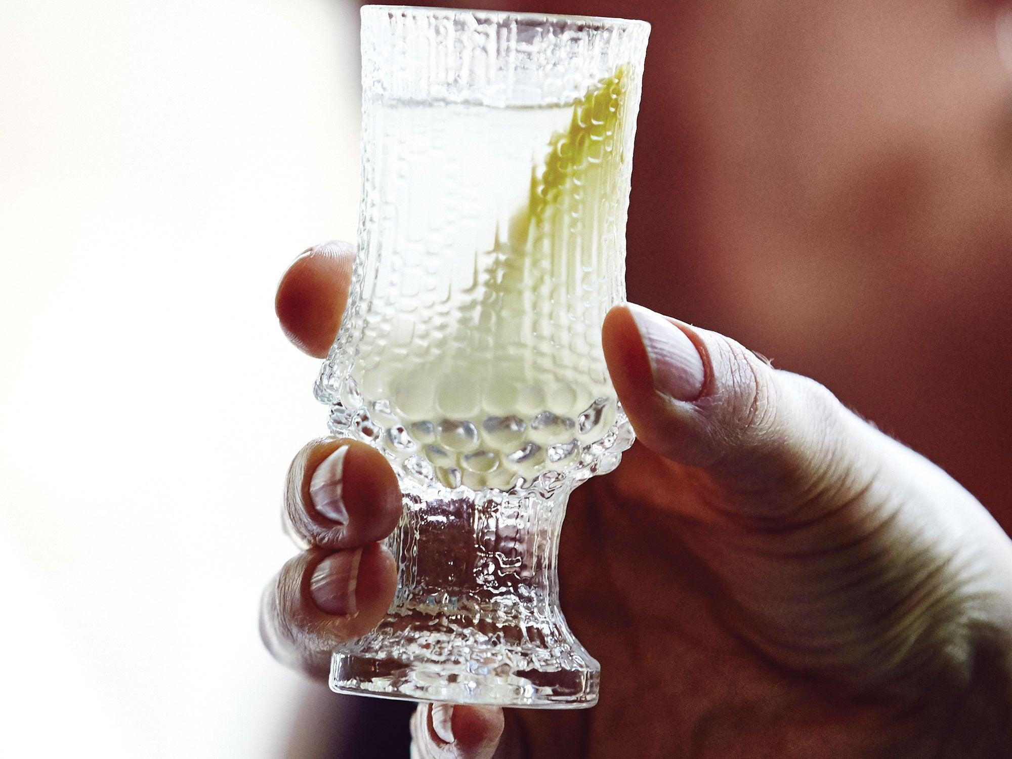 Spicy Pickle Brine Shots