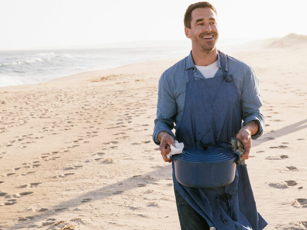 Martha's Vineyard, Chris Fischer, Entertaining, Beach Dinner