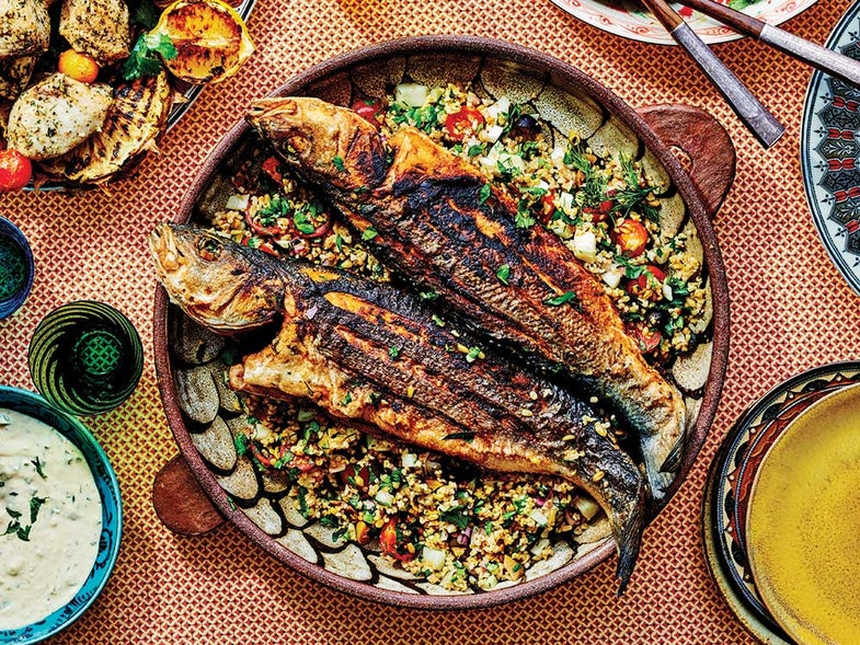 Galilee-Style Whole Fried Fish