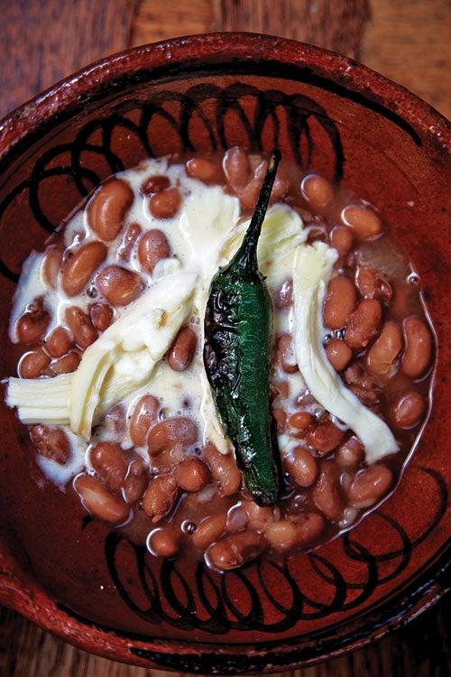 """Frijioles de Olla (Stewed """"Pot"""" Beans)"""