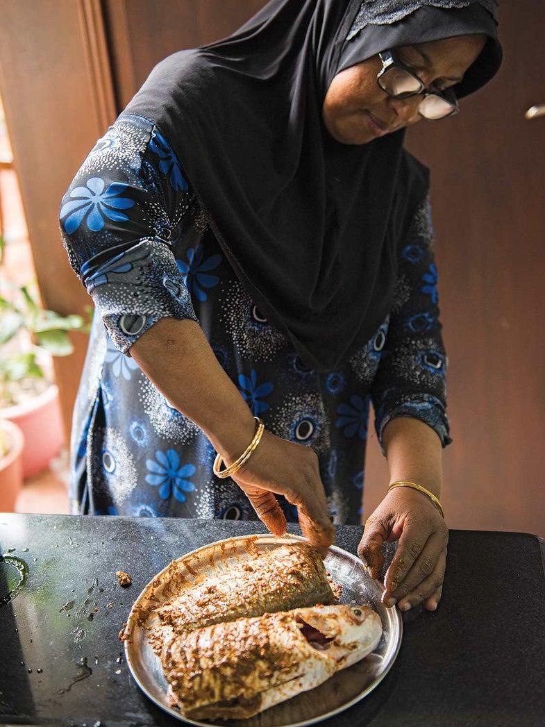 Maldives-Style Spiced Fish