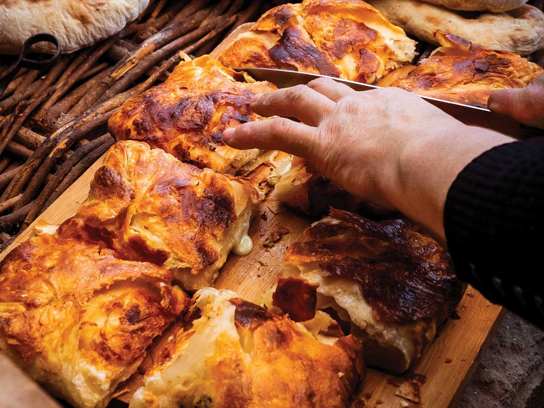 Georgian Cheese Bread (Meskhetian Khachapuri)
