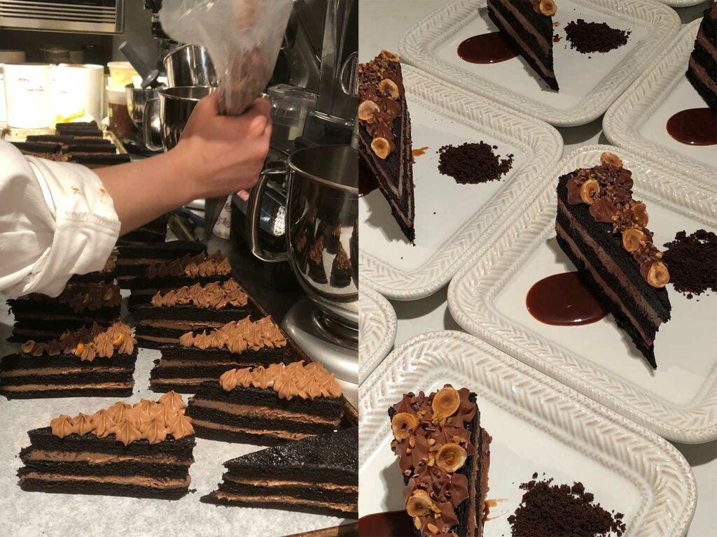 blackest chocolate cake