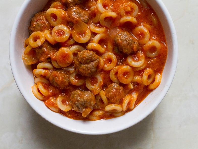 Simple Weeknight Meal Spaghettios