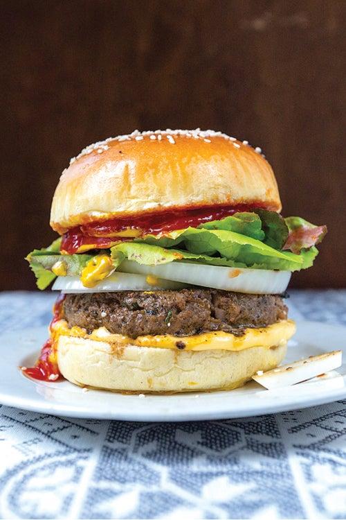 Papa's Favorite Wild West Hamburger