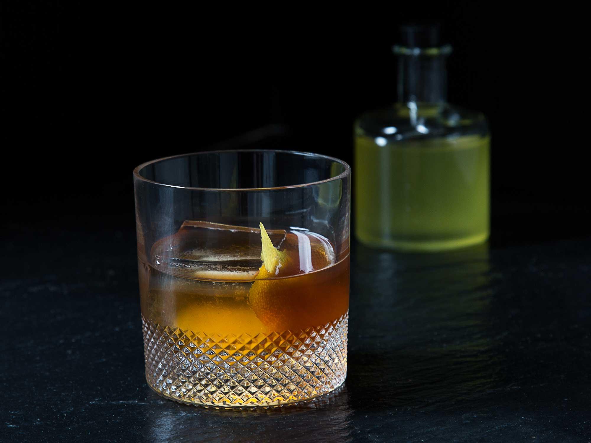 Oleo Saccharum Old Fashioned