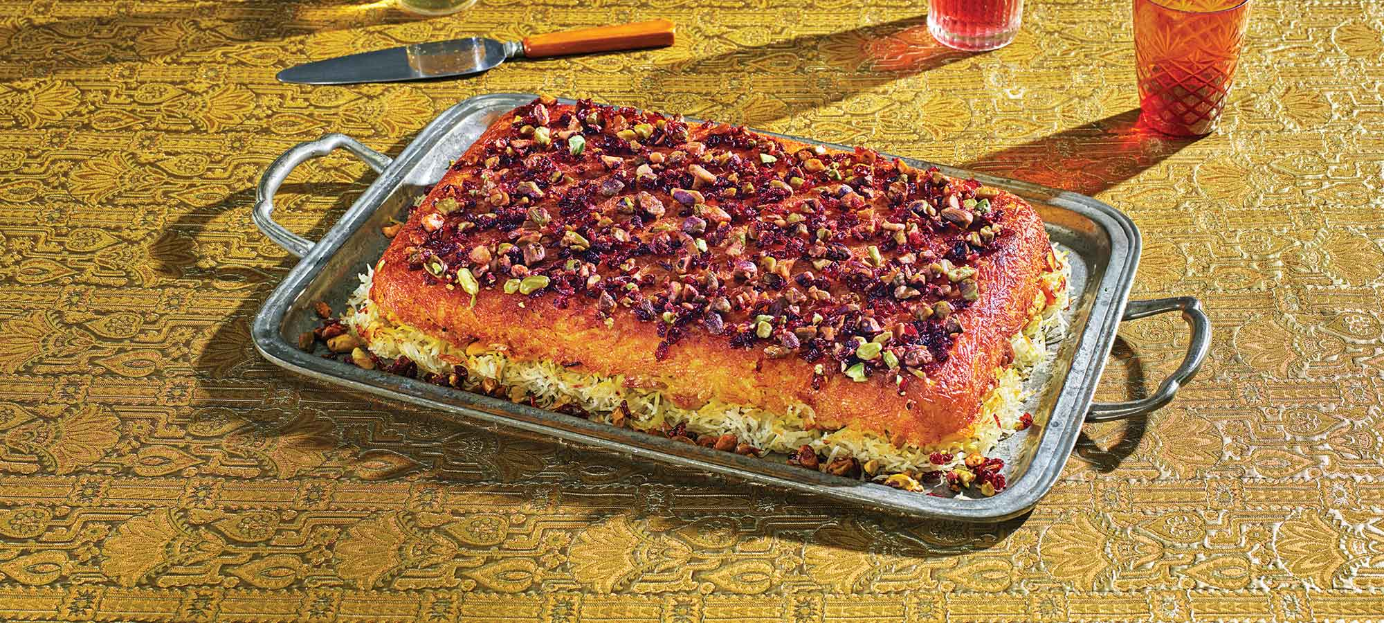 saffron rice with chicken