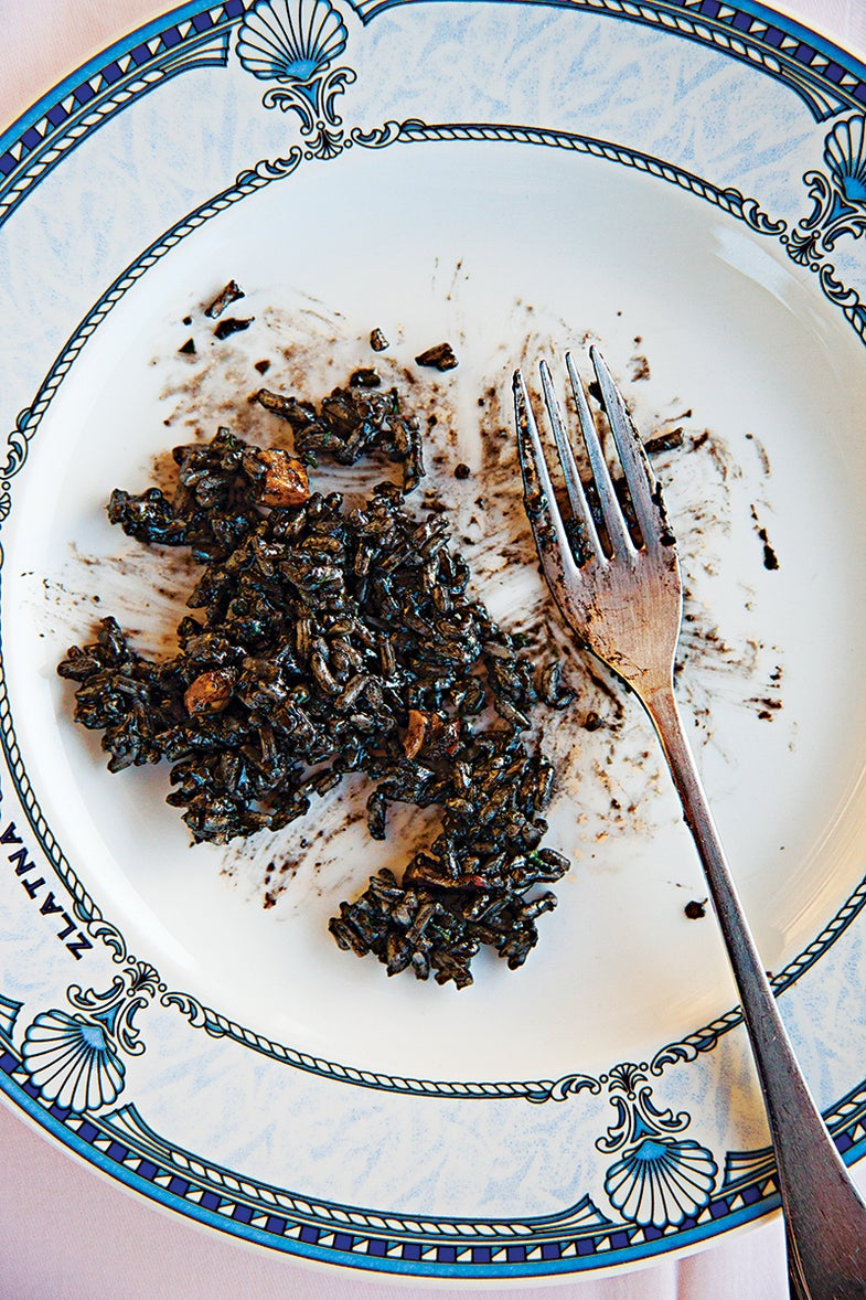 Black Cuttlefish Risotto