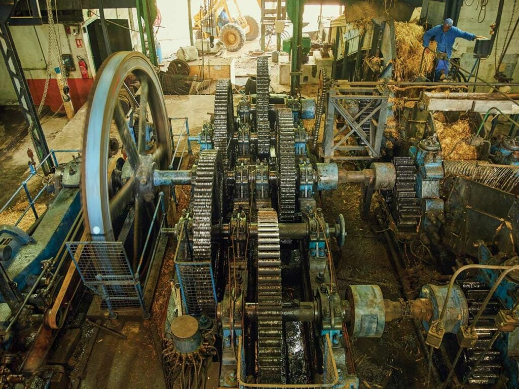 steam-power and cane-crushing